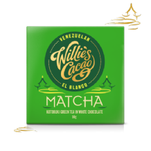 Willie's Cacao Green Tea White Chocolate 50g